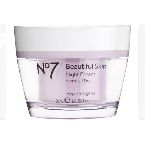 No7 Beautiful Skin Night Cream