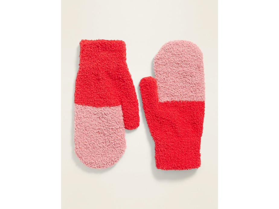 Cozy Color-Blocked Mittens