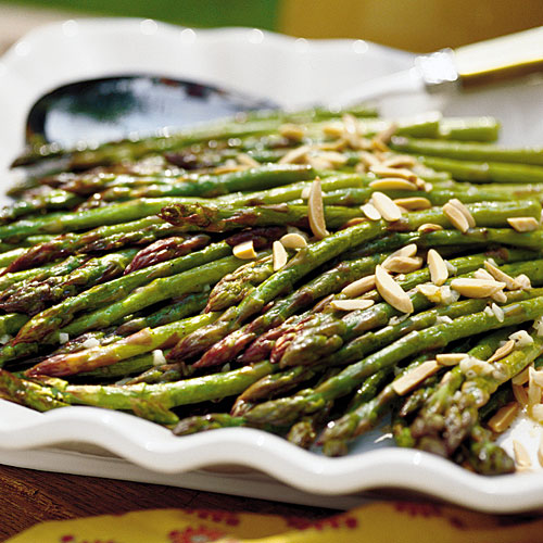 Thanksgiving Dinner Side Dishes: Oven-Roasted Asparagus Recipe