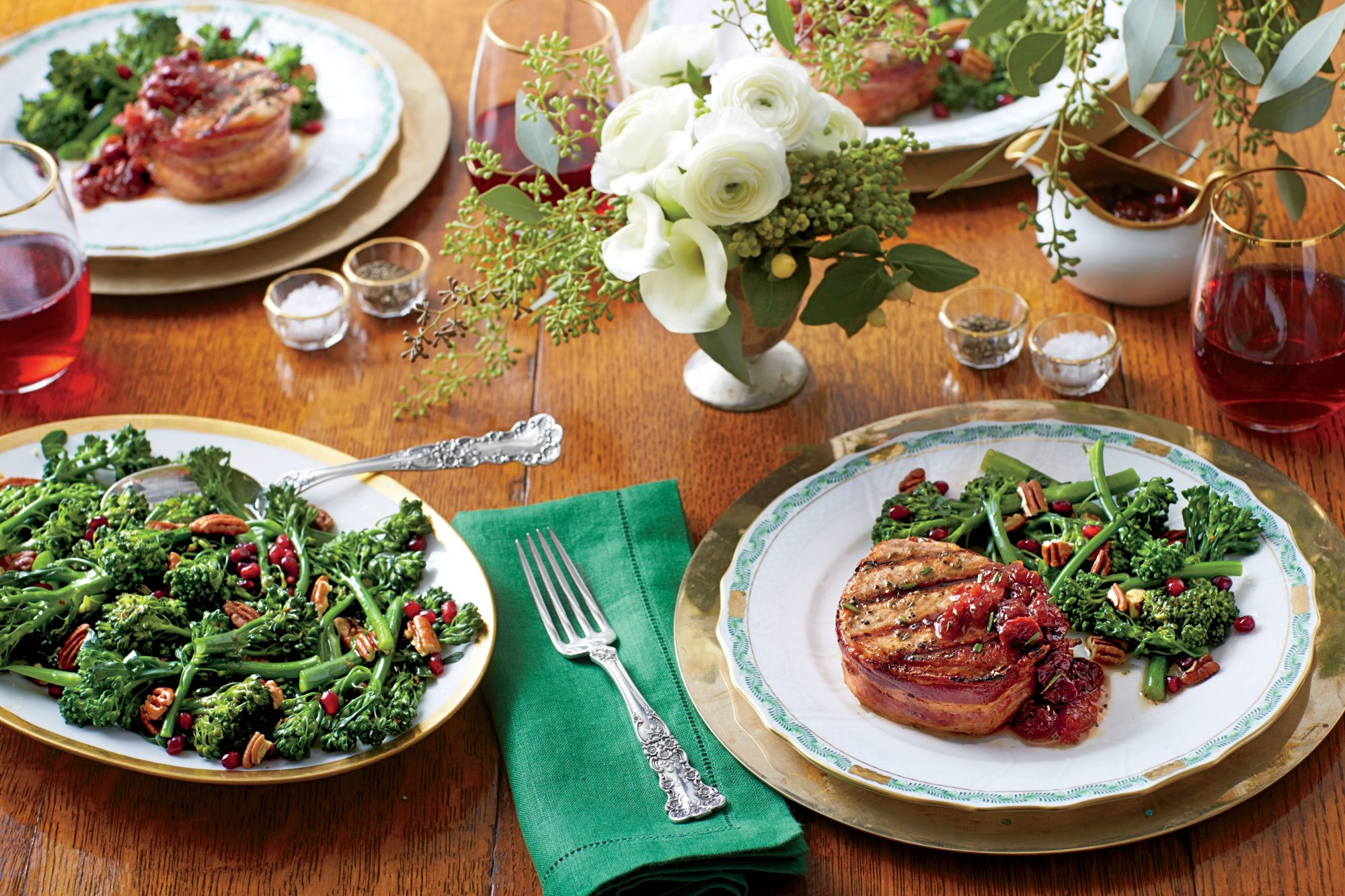 Grilled Pork Loin Steaks with Cherry-Plum Sauce Southern Living