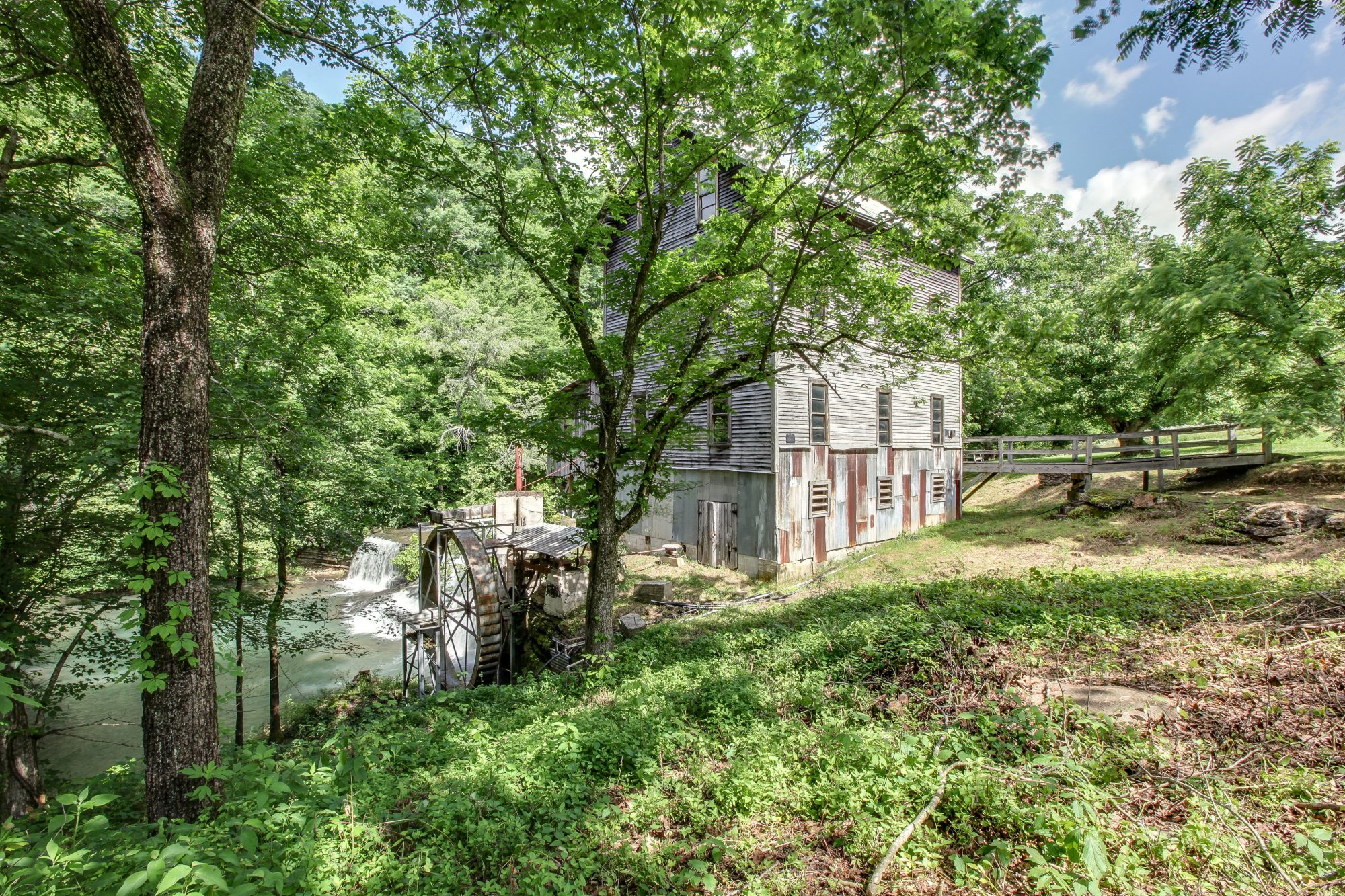Aerial Shot Gristmill Property