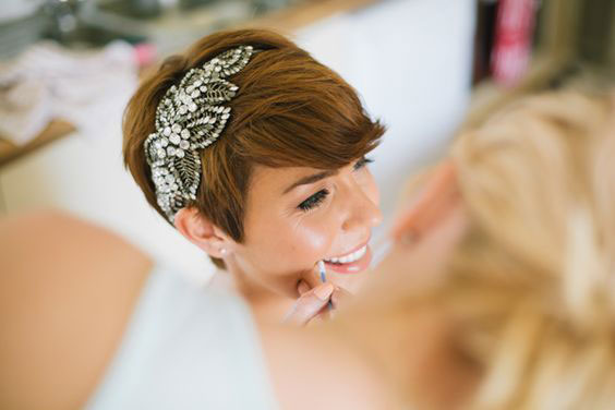 Gatsby-Inspired Head Piece