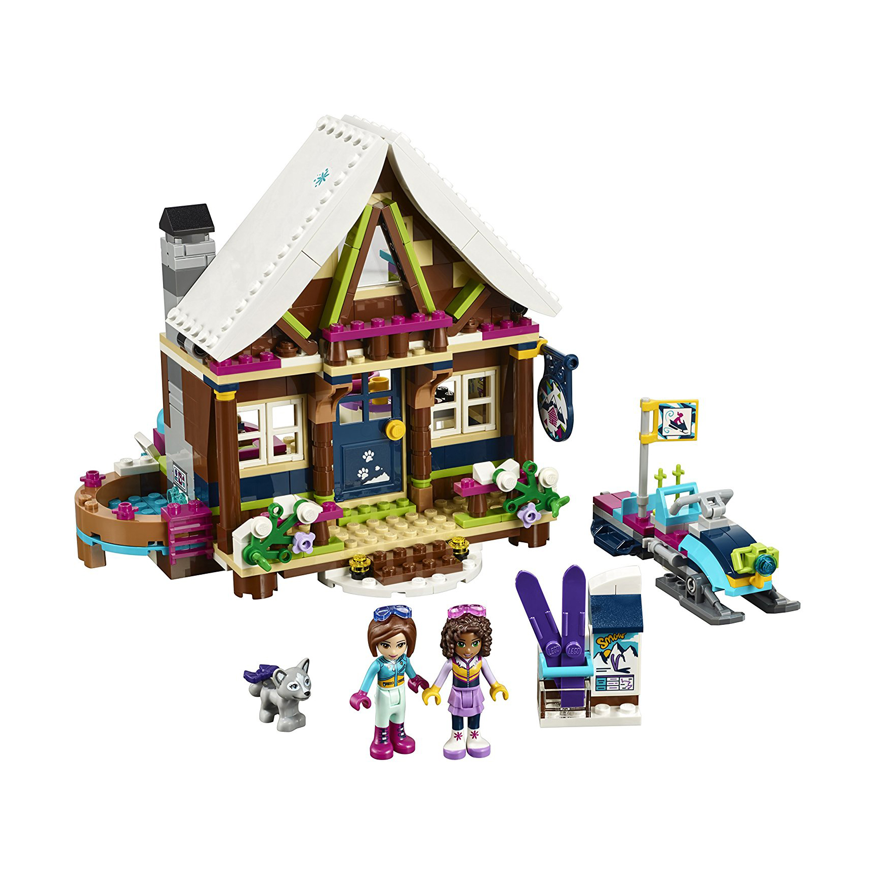 LEGO Friends Snow Resort Chalet Building Kit
