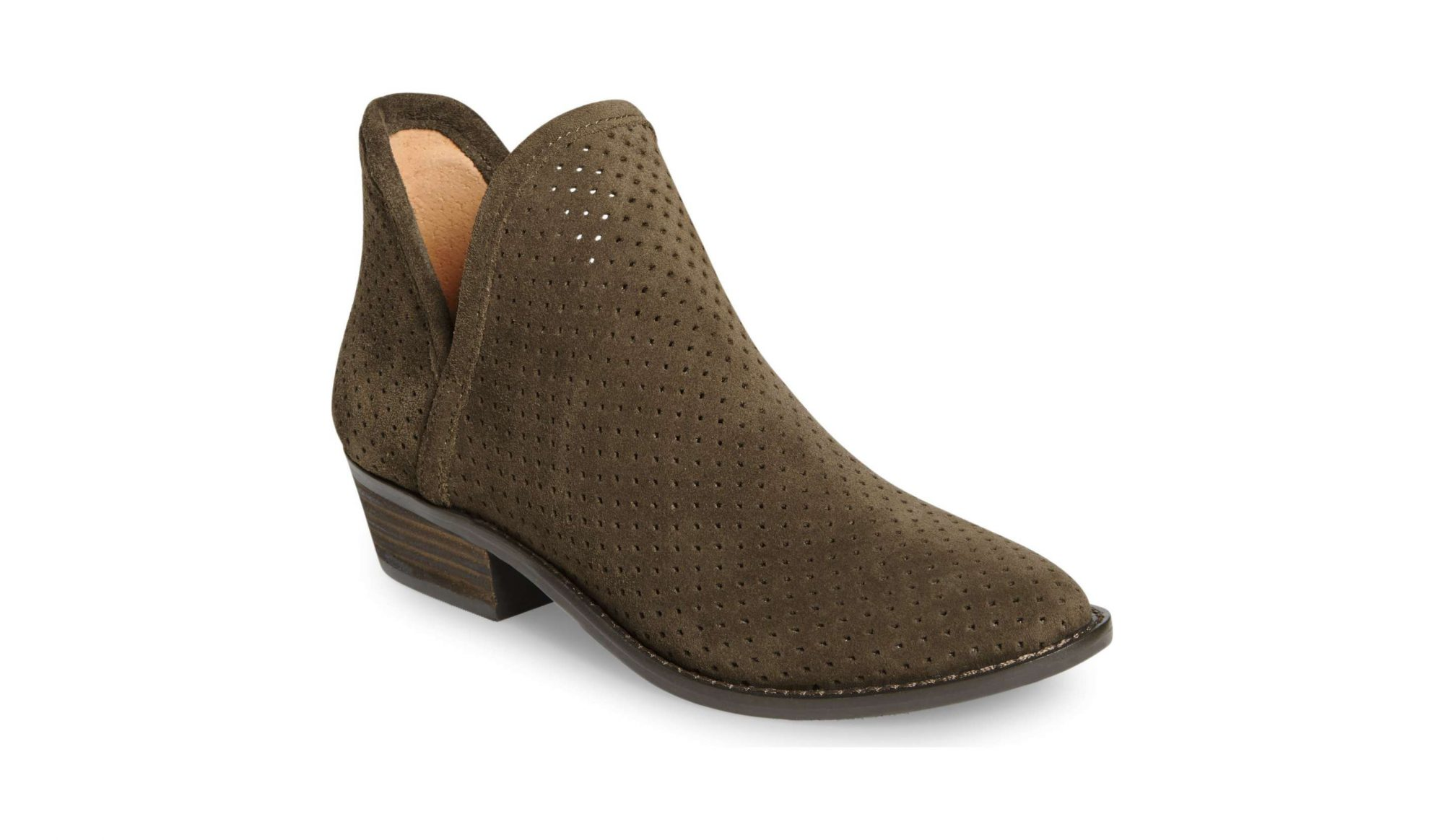 Lucky Brand Kambry Perforated Bootie