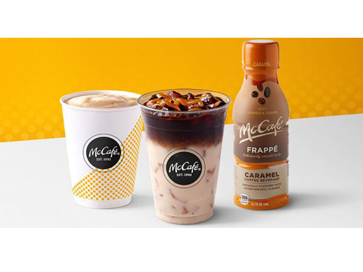 McDonald's McCafe Menu