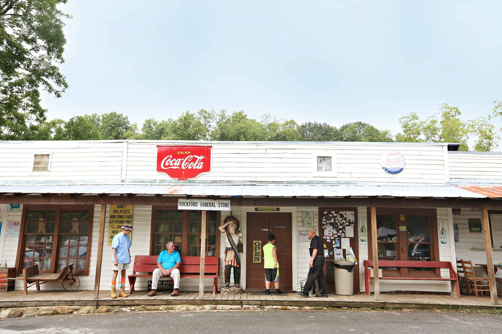 Rockford General Store in Dobson, North Carolina