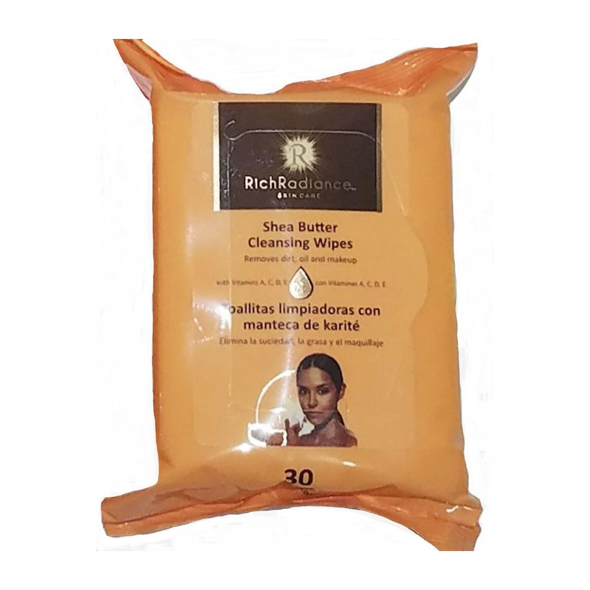 Shea Butter Makeup Cleansing Wipes