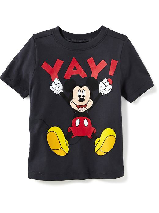 Mickey Mouse Graphic Tee for Toddler Boys
