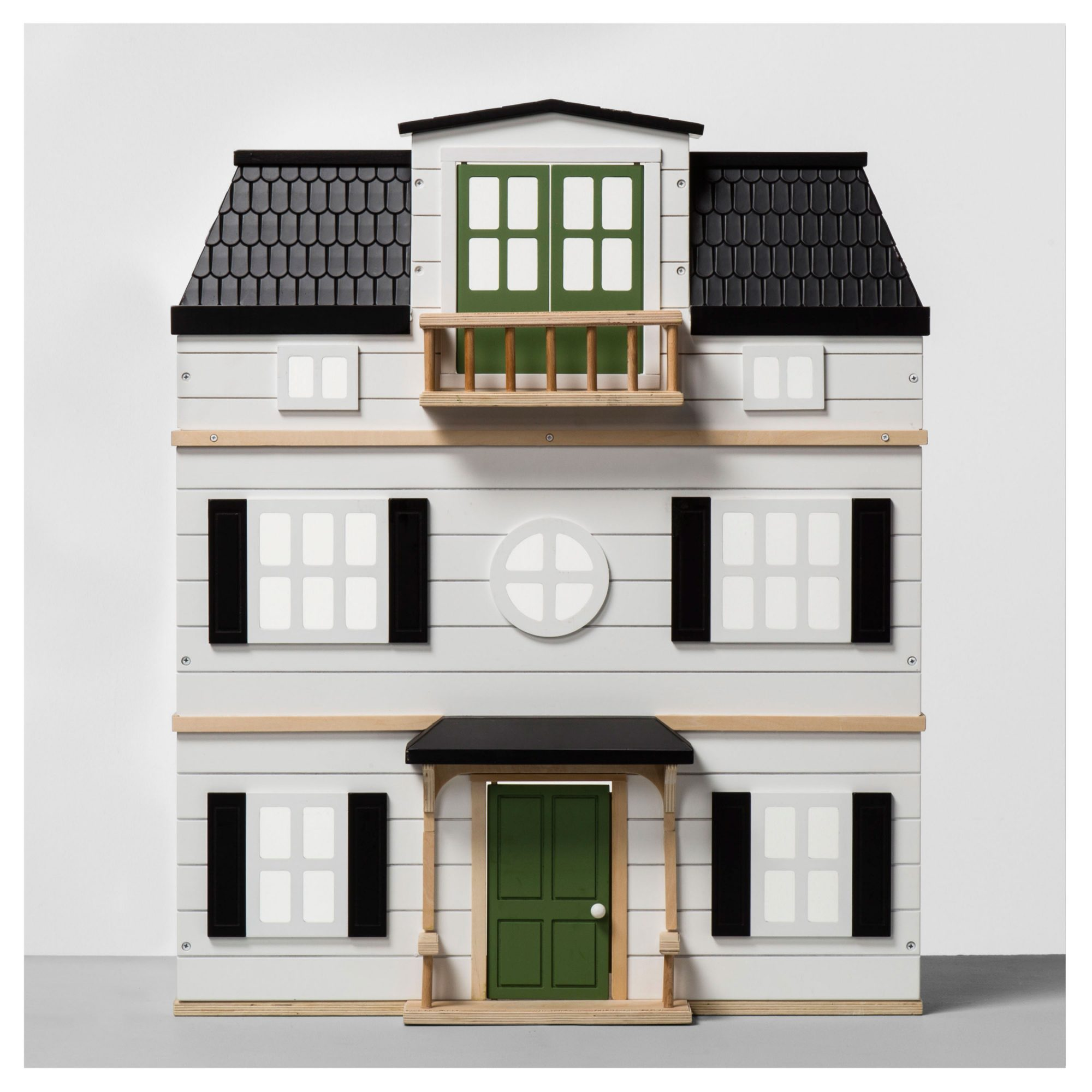 Hearth & Hand with Magnolia Toy Wood Dollhouse with Scalloped Roof