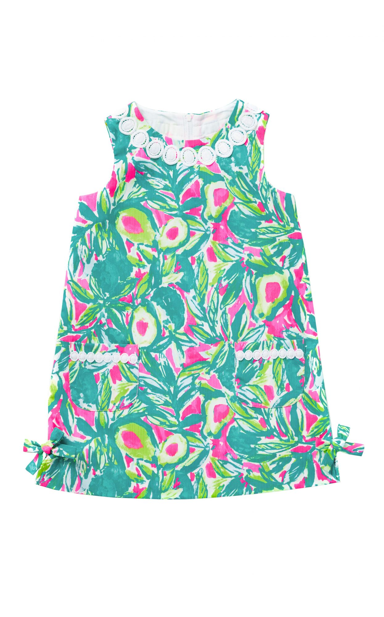 Lilly Pulitzer Girls Little Lilly Classic Shift Guac