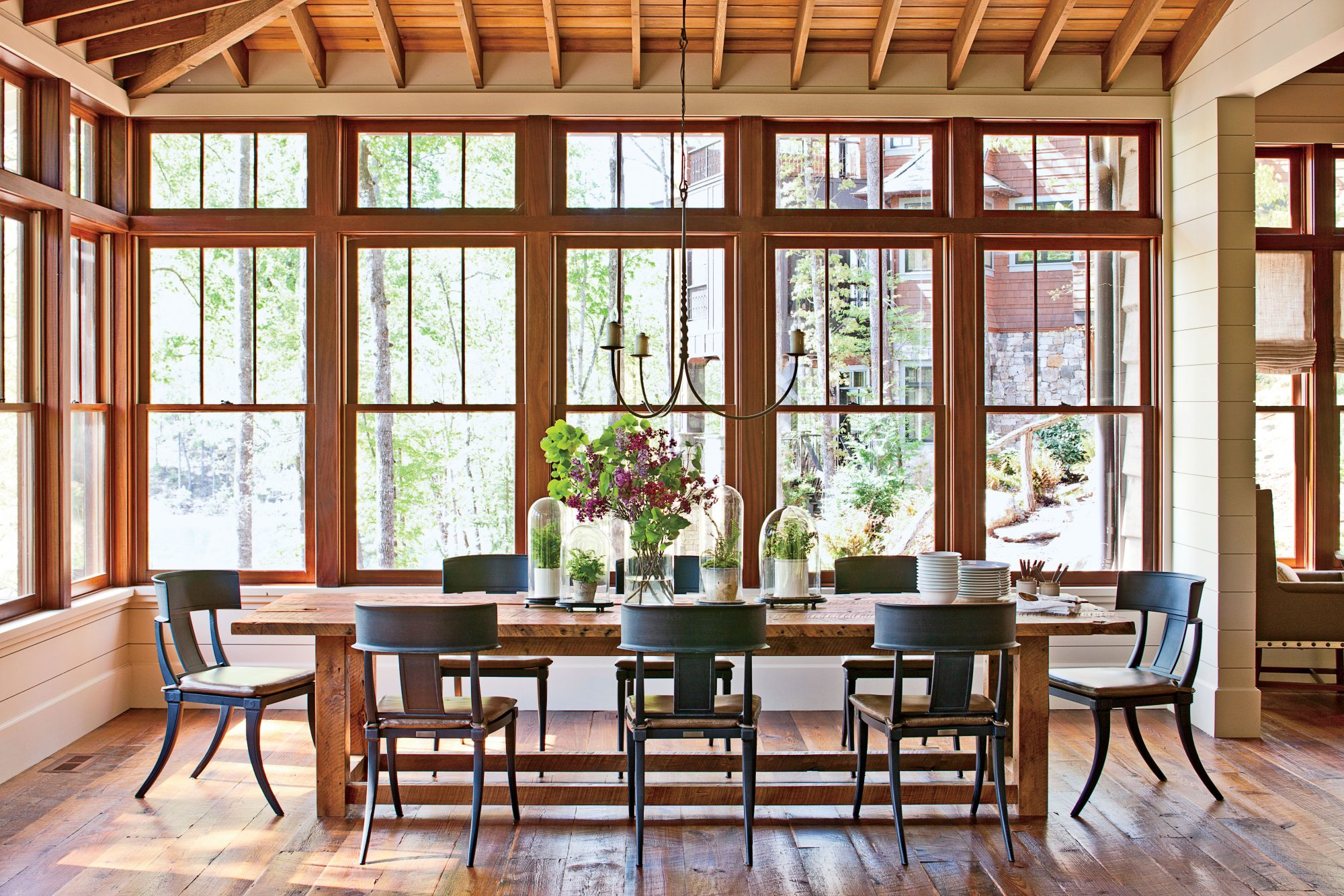 Dining Room with Lots of Windows