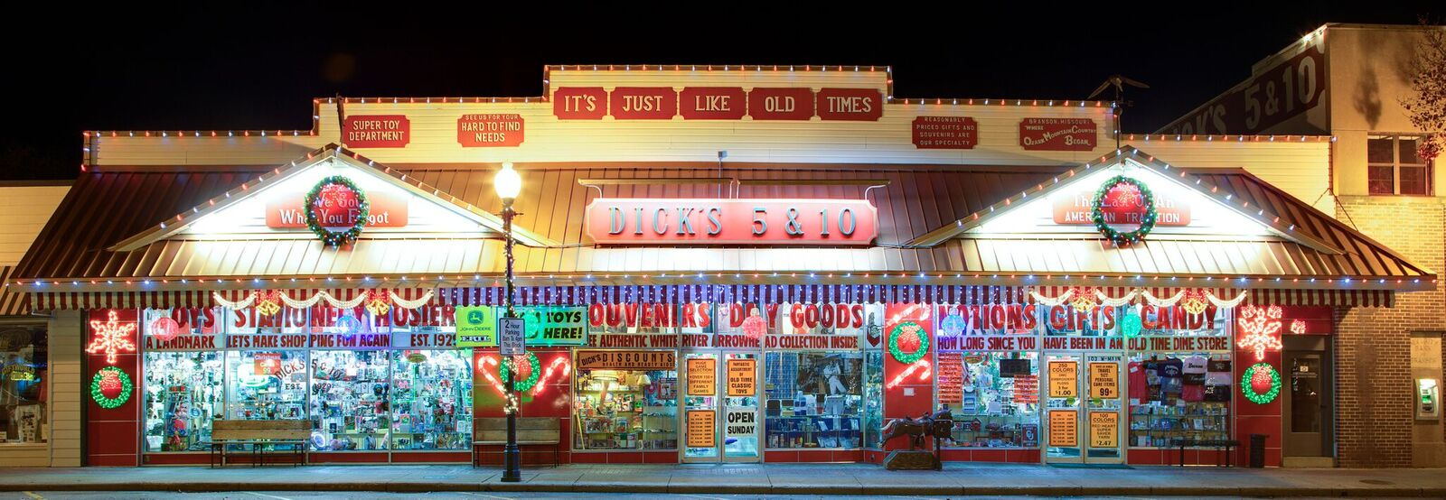 Or take a trip down memory lane at Dick's 5 & 10, an authentic dime store located downtown.