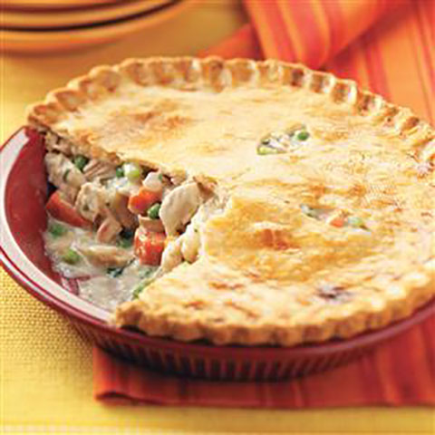 Easy Freeze Turkey Pot Pie