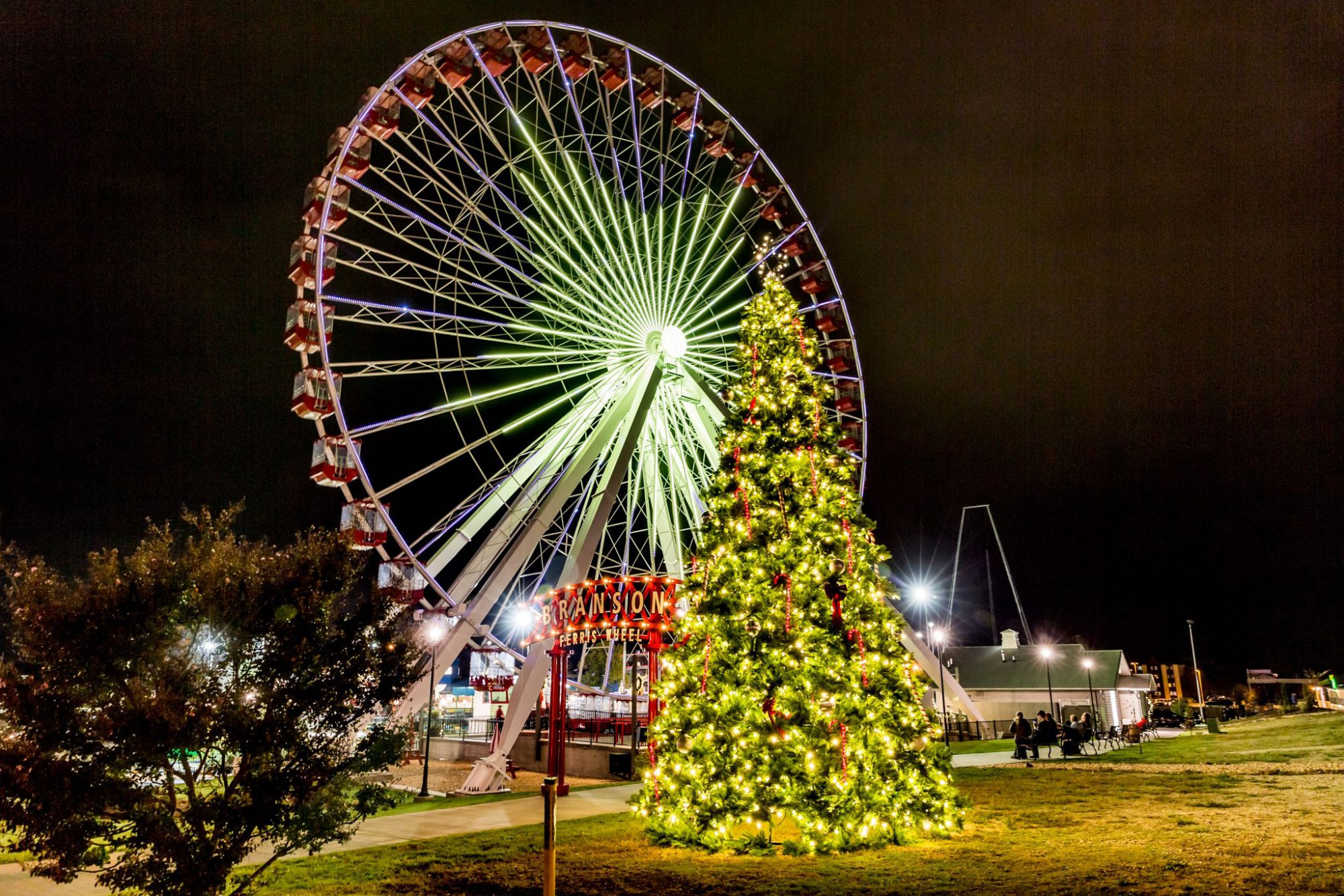 Take a spin on the Branson Ferris Wheel.