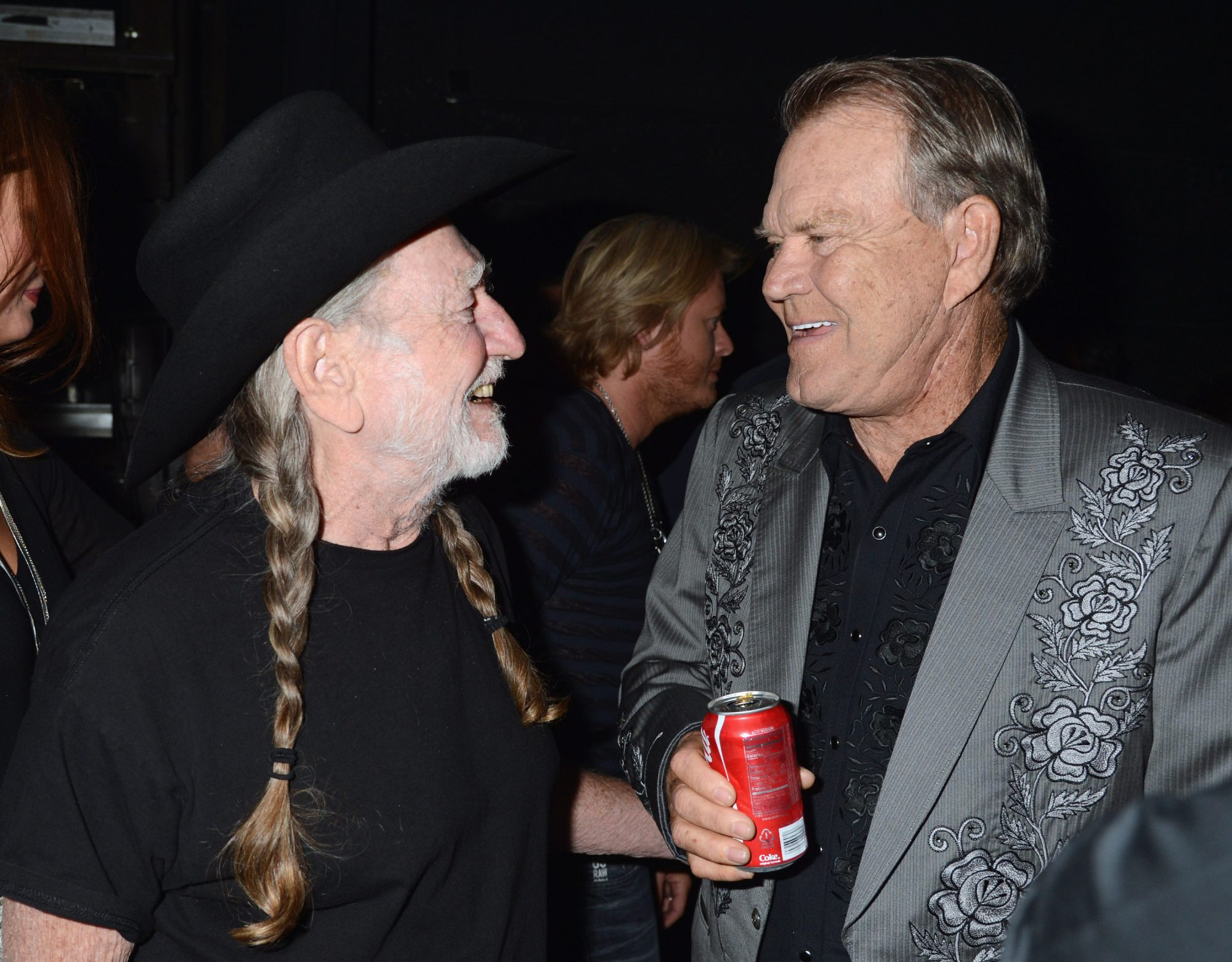 Glen Campbell and Willie Nelson