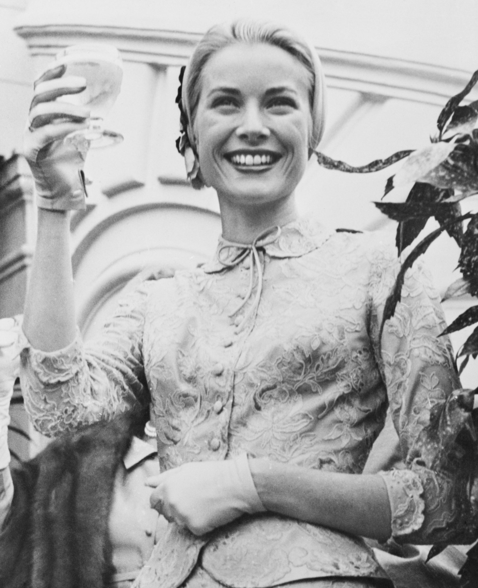 Grace Kelly Civil Wedding Ceremony Suit