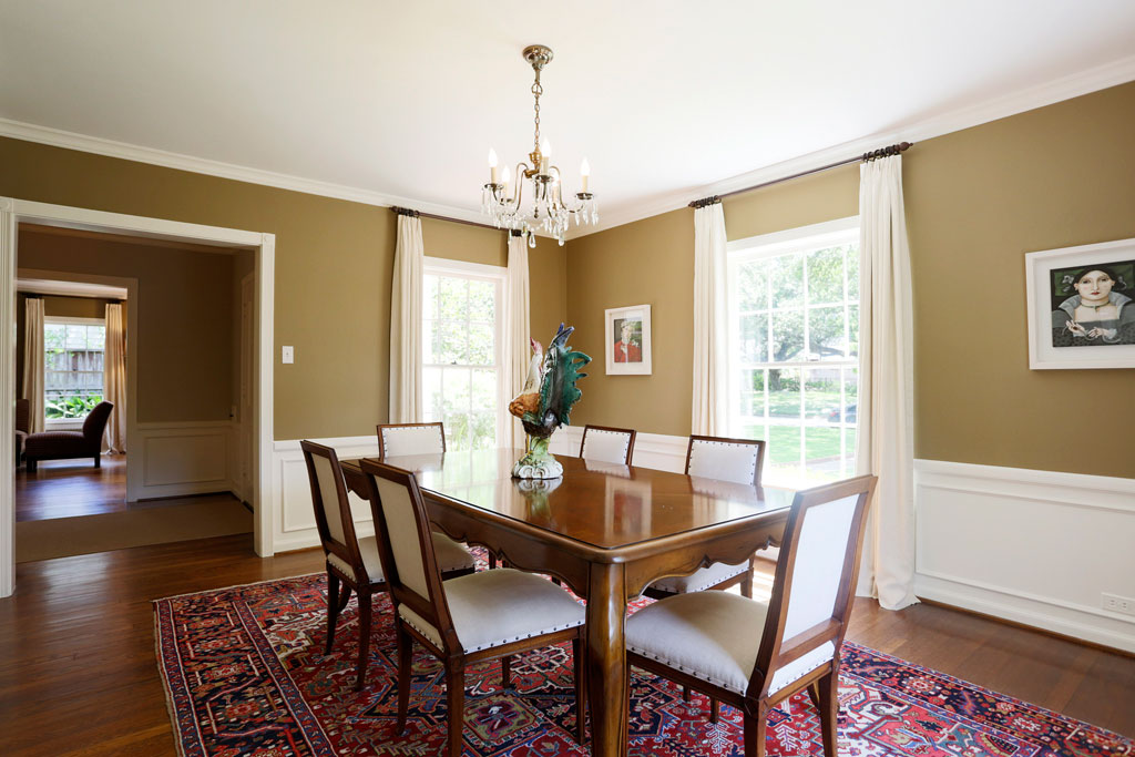 Marie Flanigan B&A Dining Room Before
