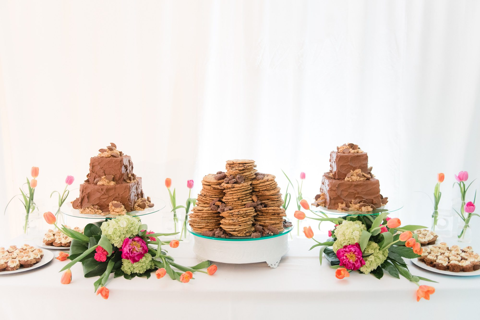 Darling Chocolate Dessert Table