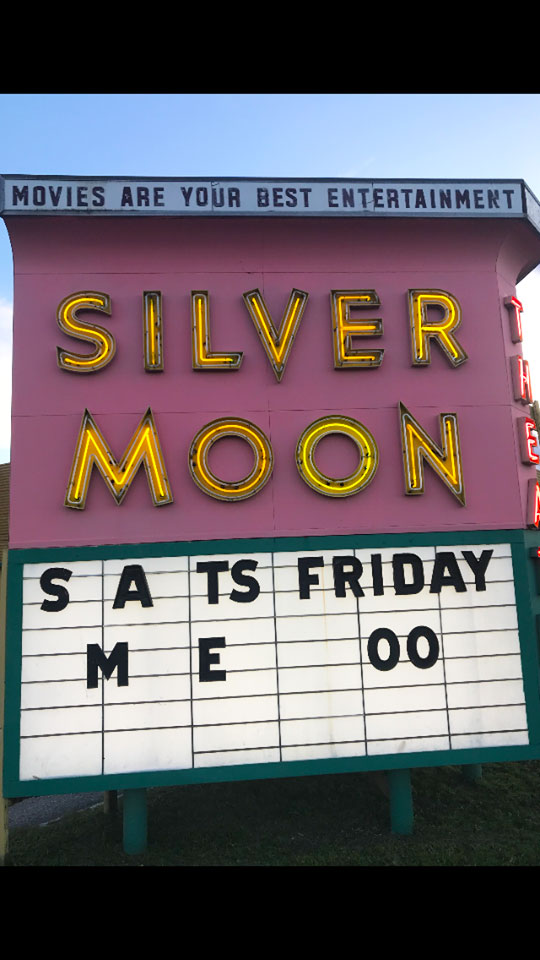 Silver Moon Drive-In Theatre