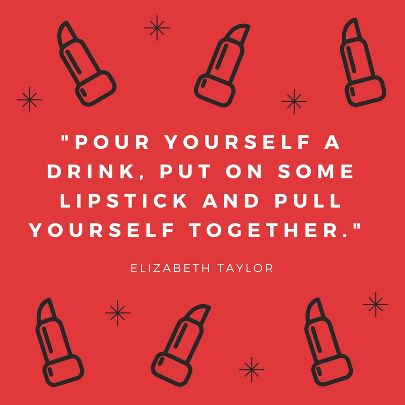 Lipstick Can Hold Us Together, Even If We're Falling Apart