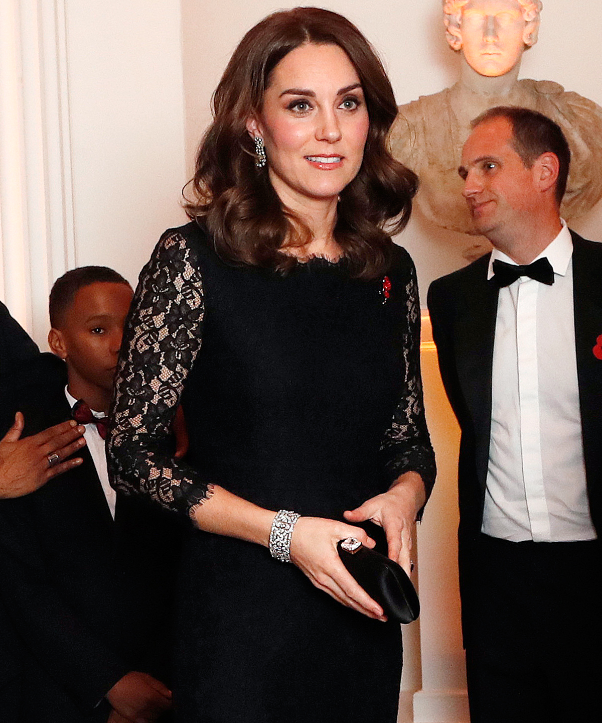 Kate Middleton Borrowed This Diamond Bracelet from Queen Elizabeth