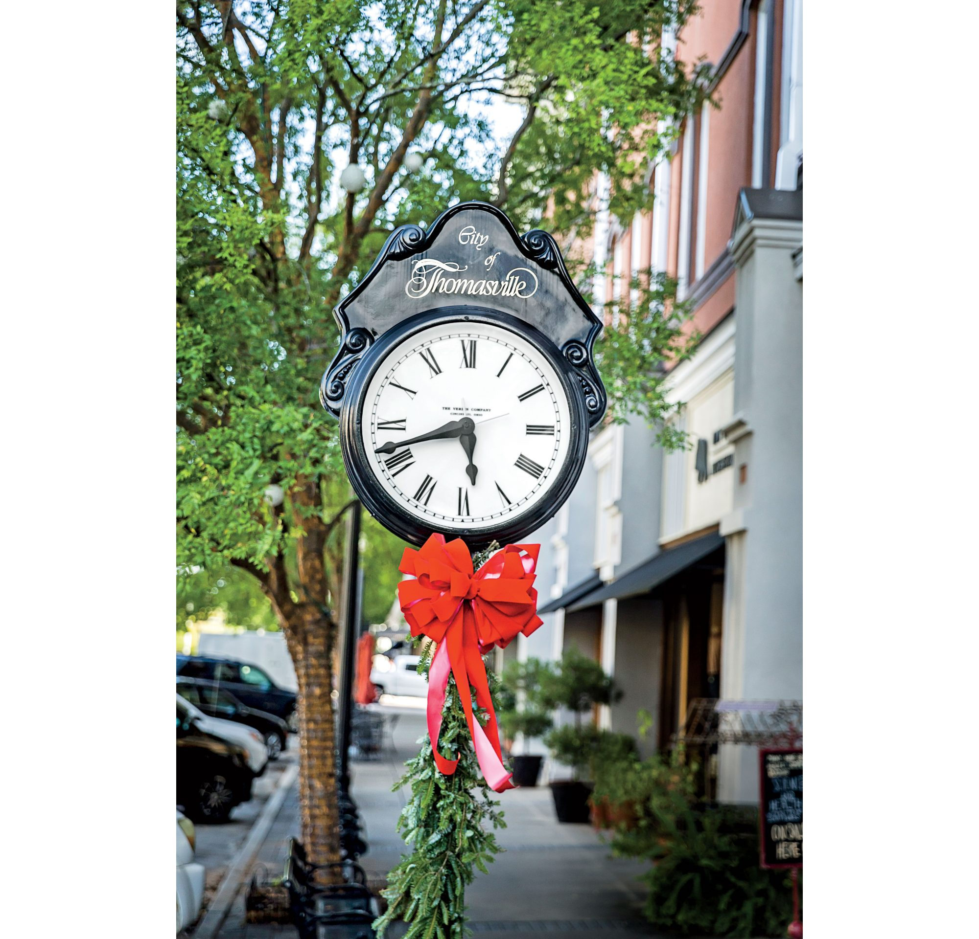 City of Thomasville Clock
