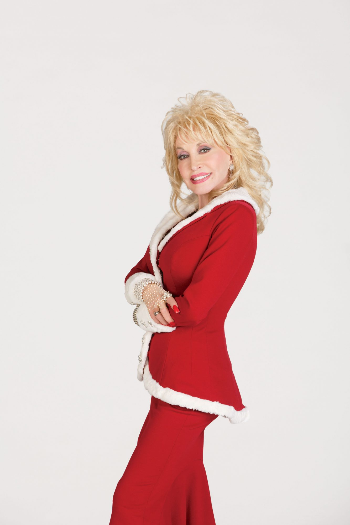 Dolly in Christmas Suit