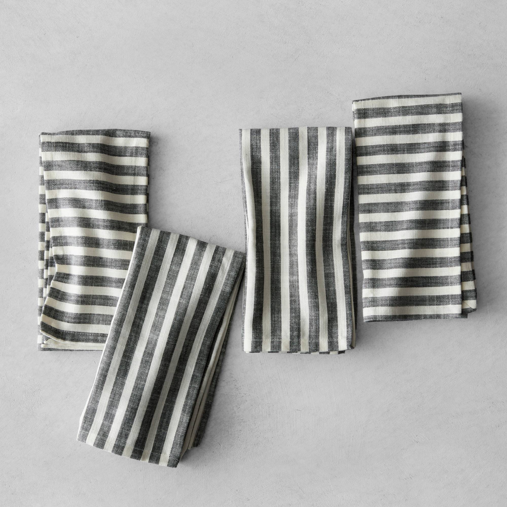 Striped Napkins from Heath and Hand