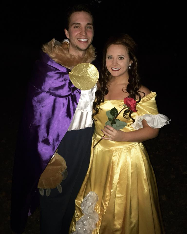 Hope Hagerman and Kolby Davis Beauty and the Beast