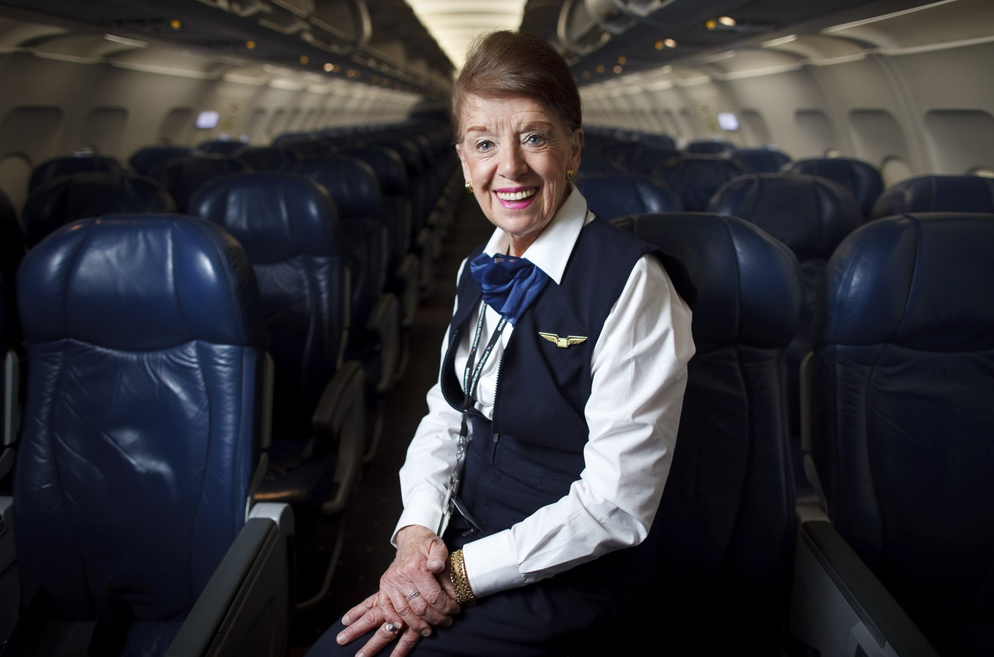 Bette Nash Flight Attendant