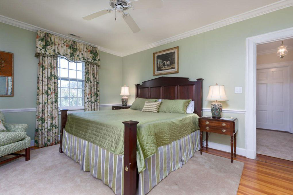 Colonial Brick Home Charleston Second Floor Bedroom