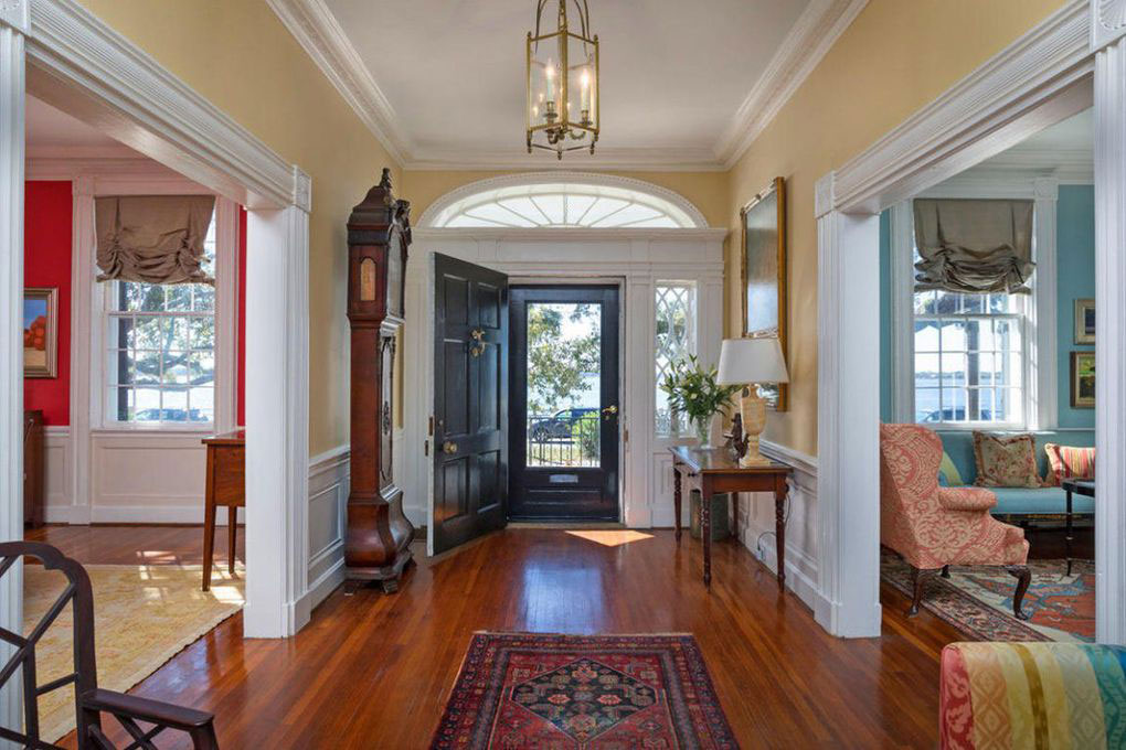 Colonial Brick Home Charleston Battery Interior