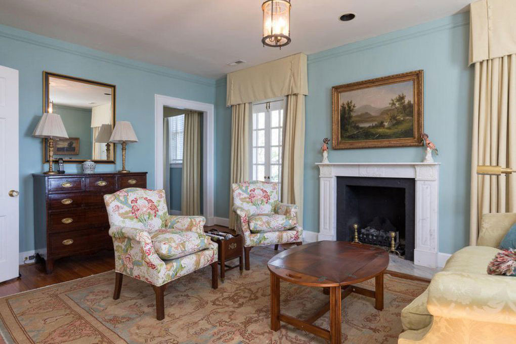 Colonial Brick Home Charleston Second Formal Room