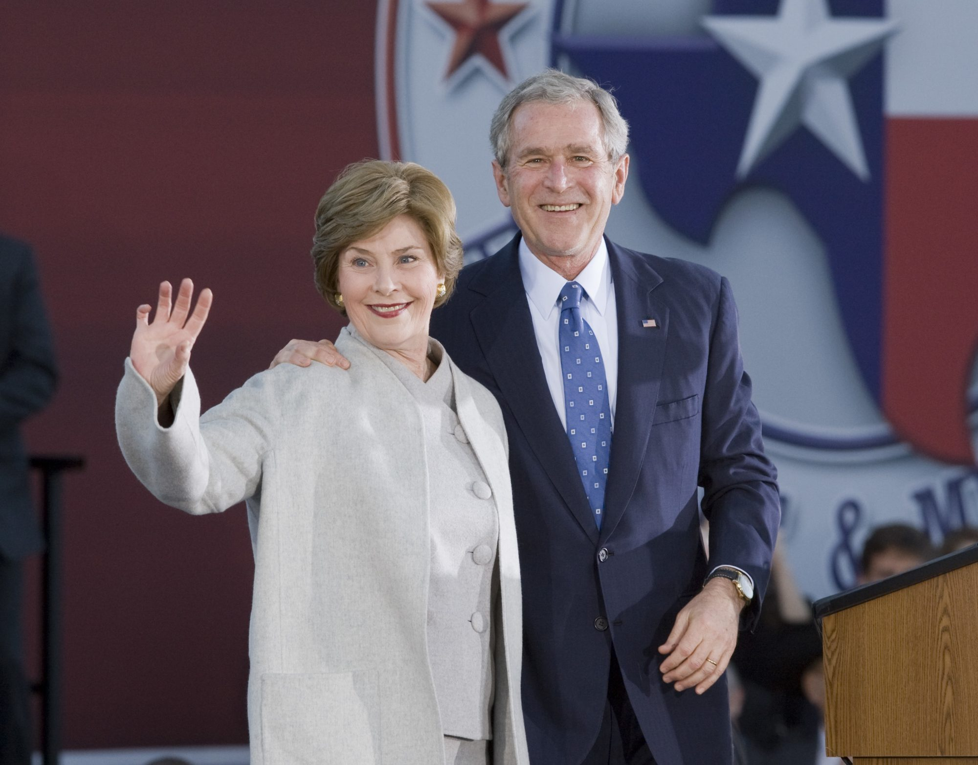 George W Bush Wishes Love Of His Life Wife Laura A Happy 40th