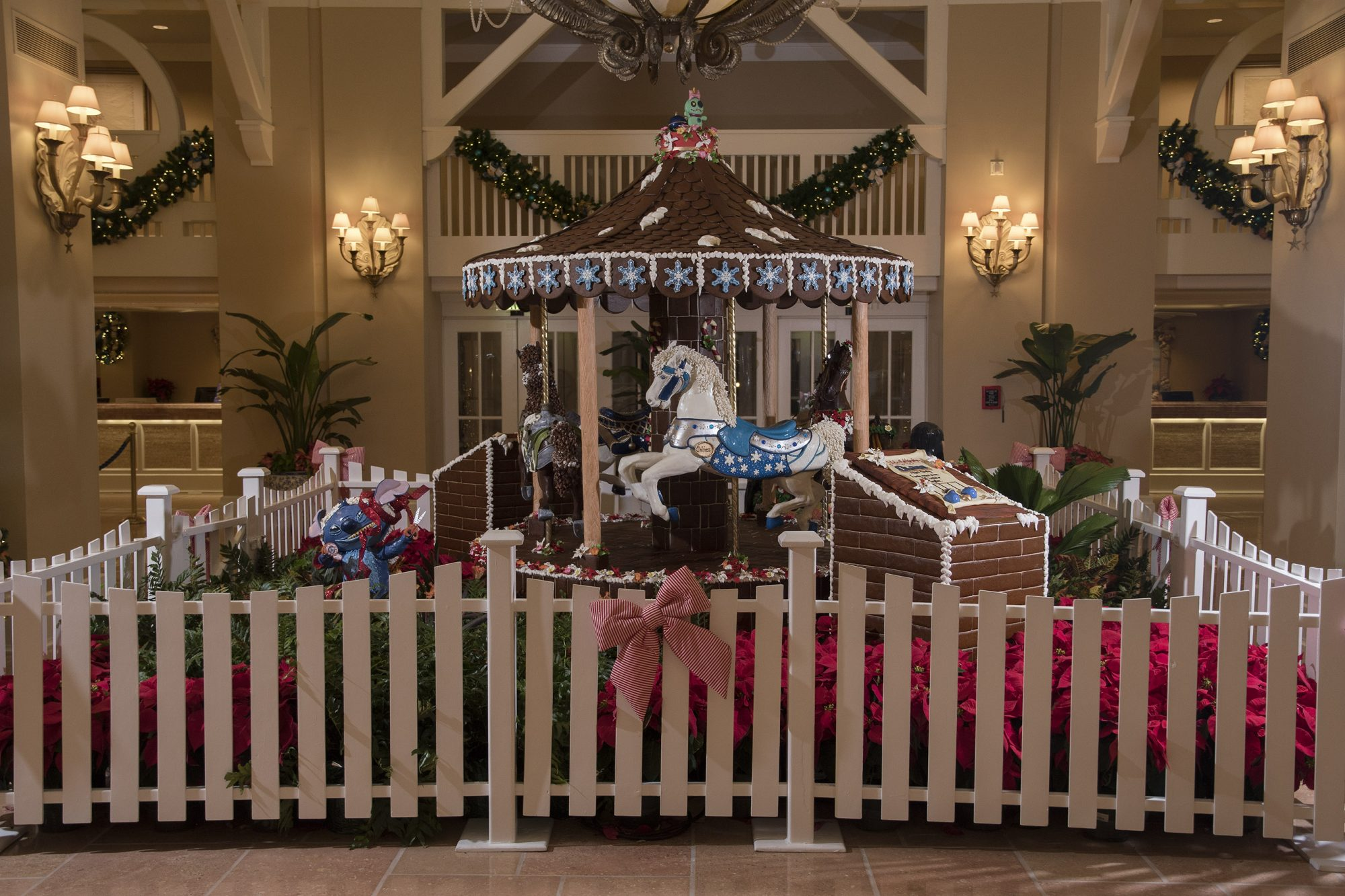Disney Gingerbread Carousel 1