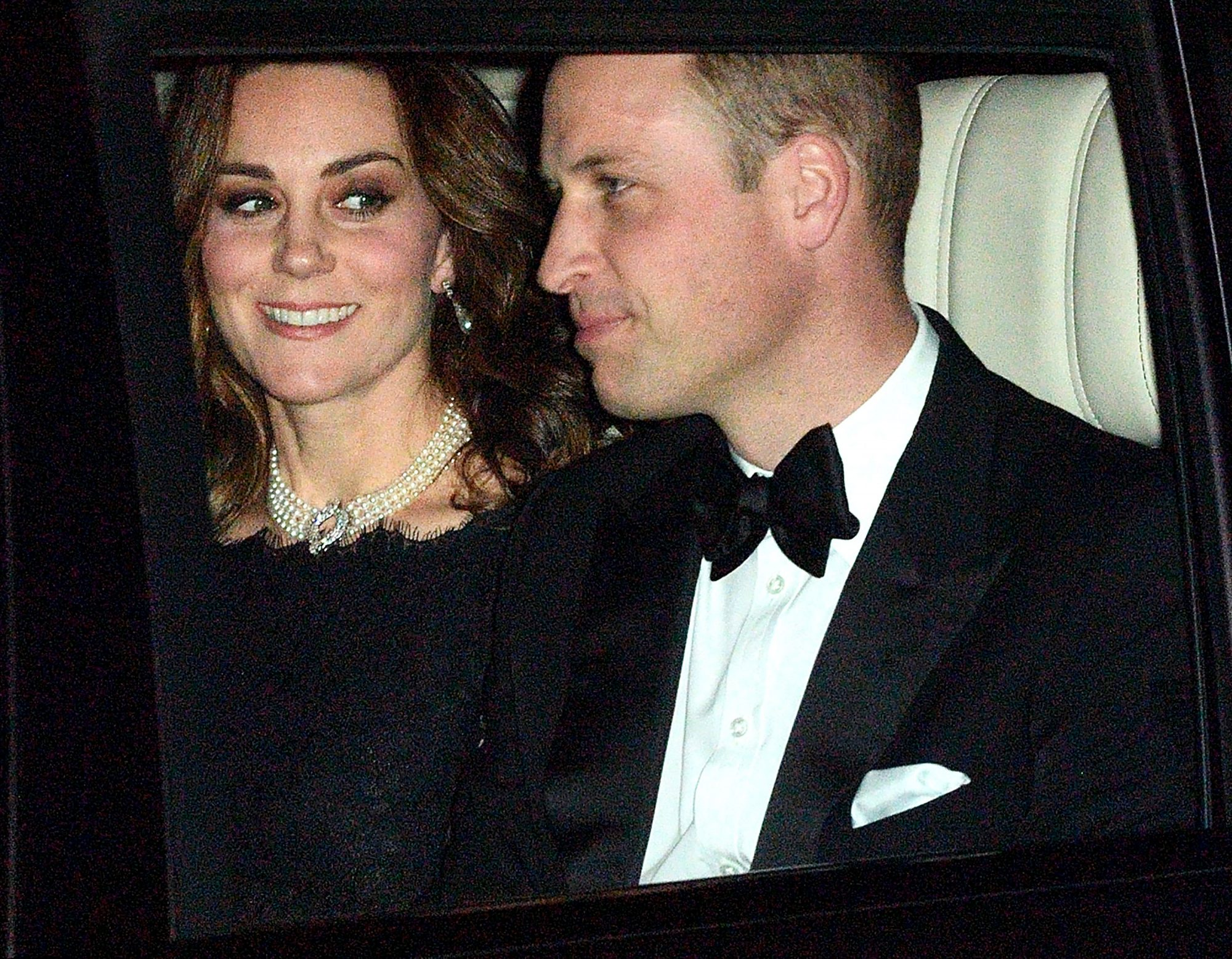 Kate Wearing Royal Family Necklace
