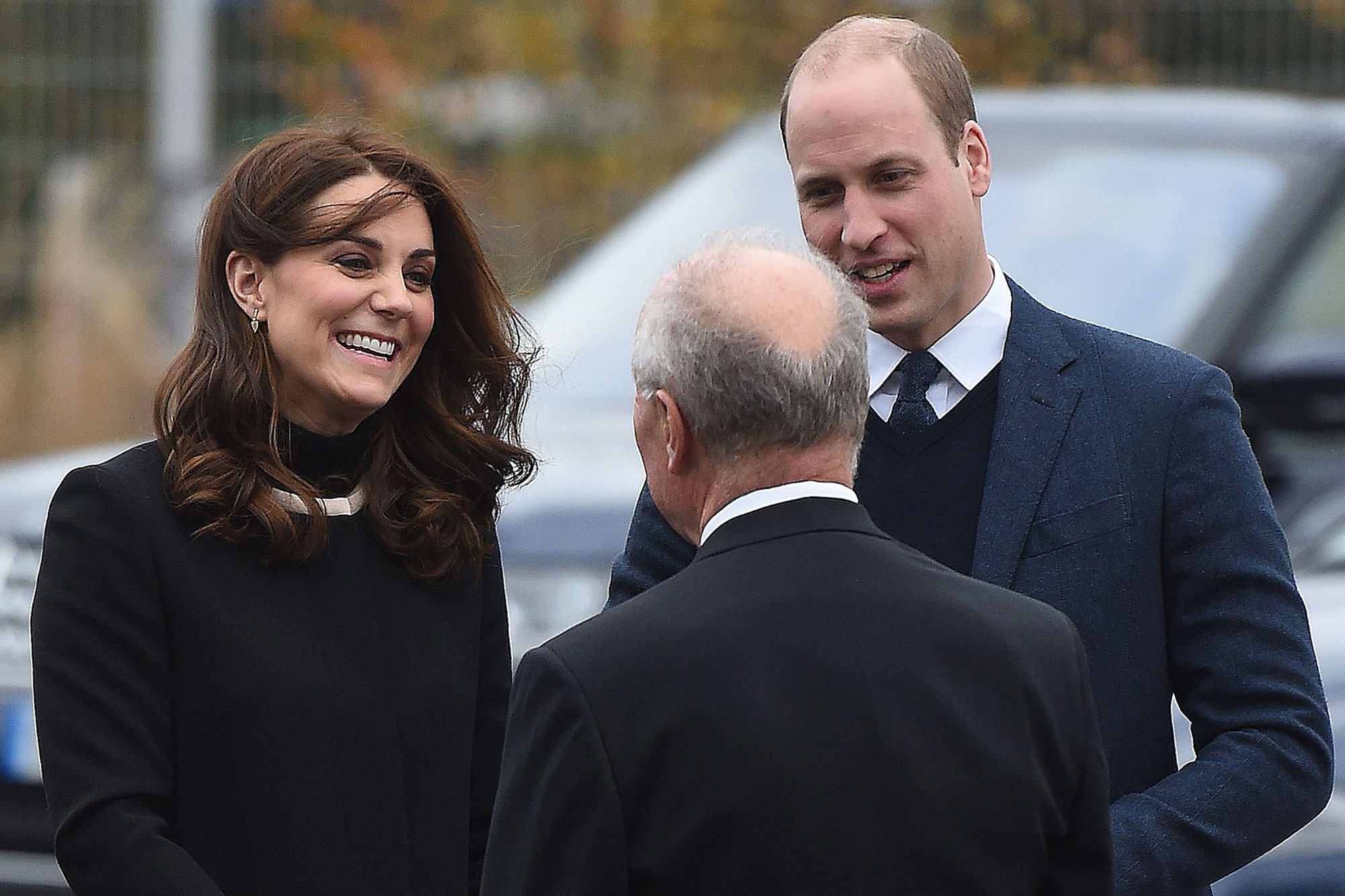 Pregnant Kate Middleton Is All Smiles as She Goes Off-Roading with Prince William