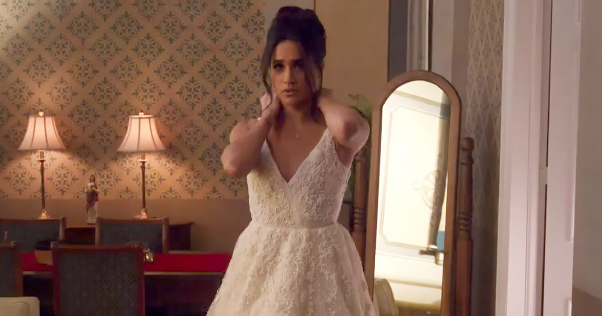 Meghan Suits Bridal Gown