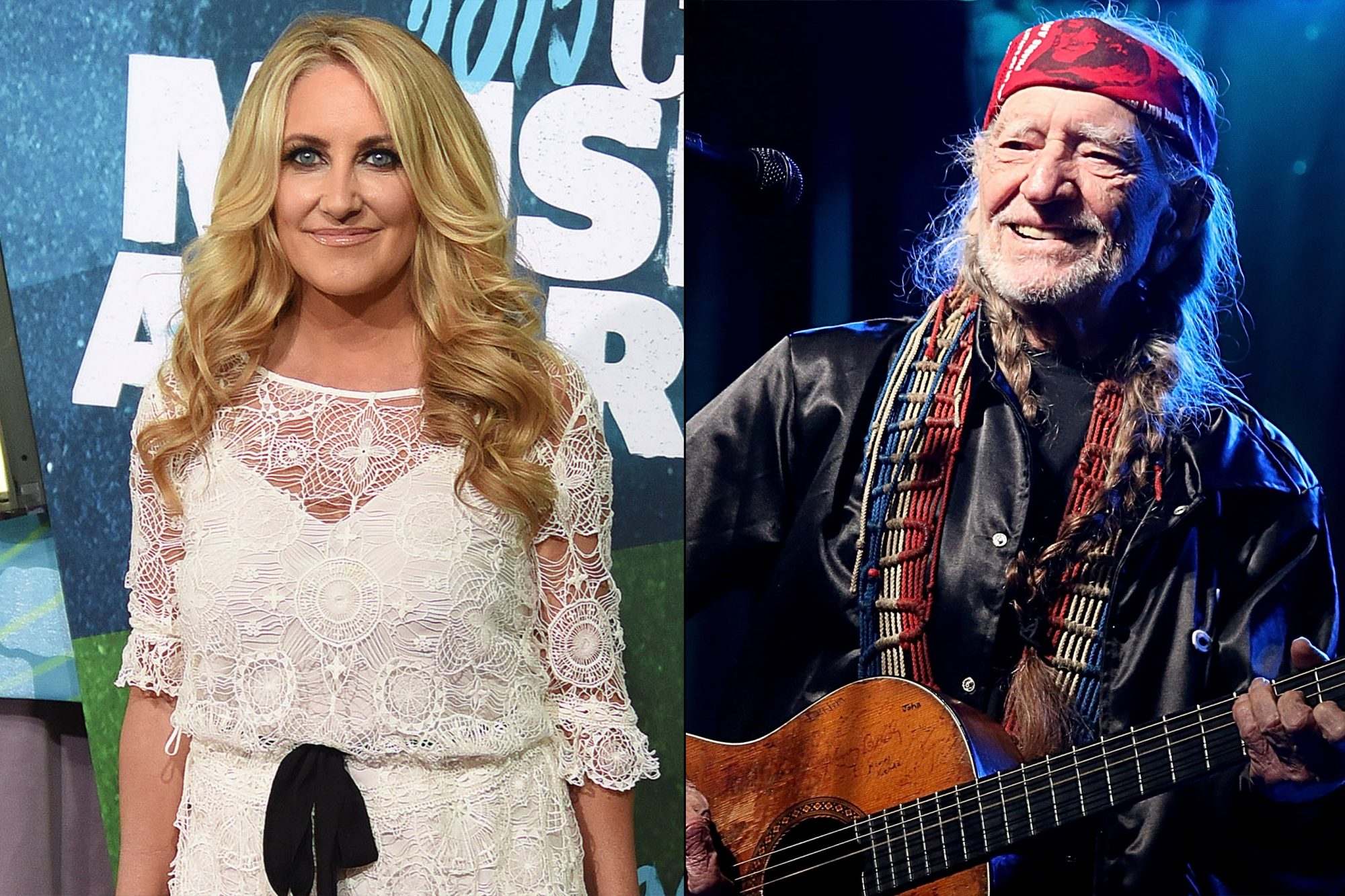 Hear Lee Ann Womack and Willie Nelson's charming 'Baby, It's Cold Outside' cover