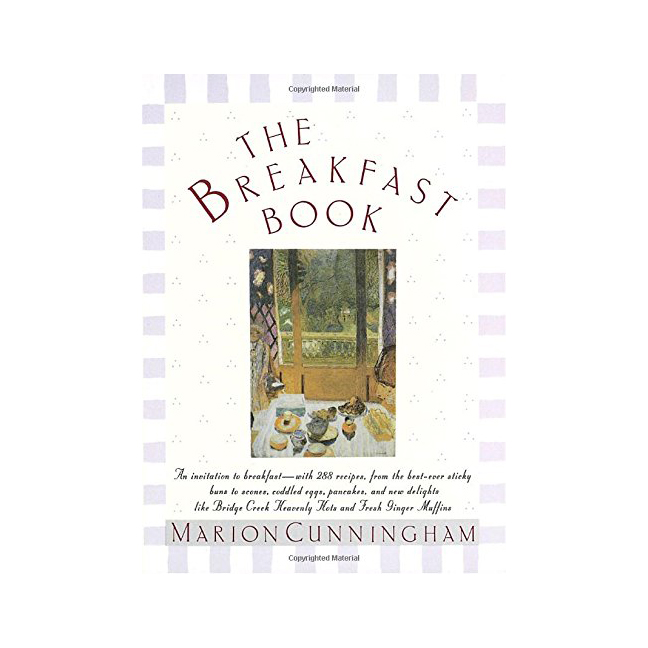 The Breakfast Book Cookbook
