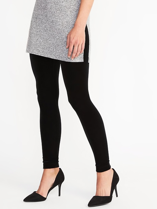 Old Navy Velvet Leggings