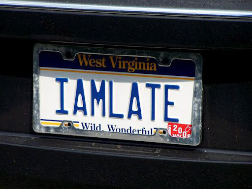 "West Virginia: ""I Am Late"""
