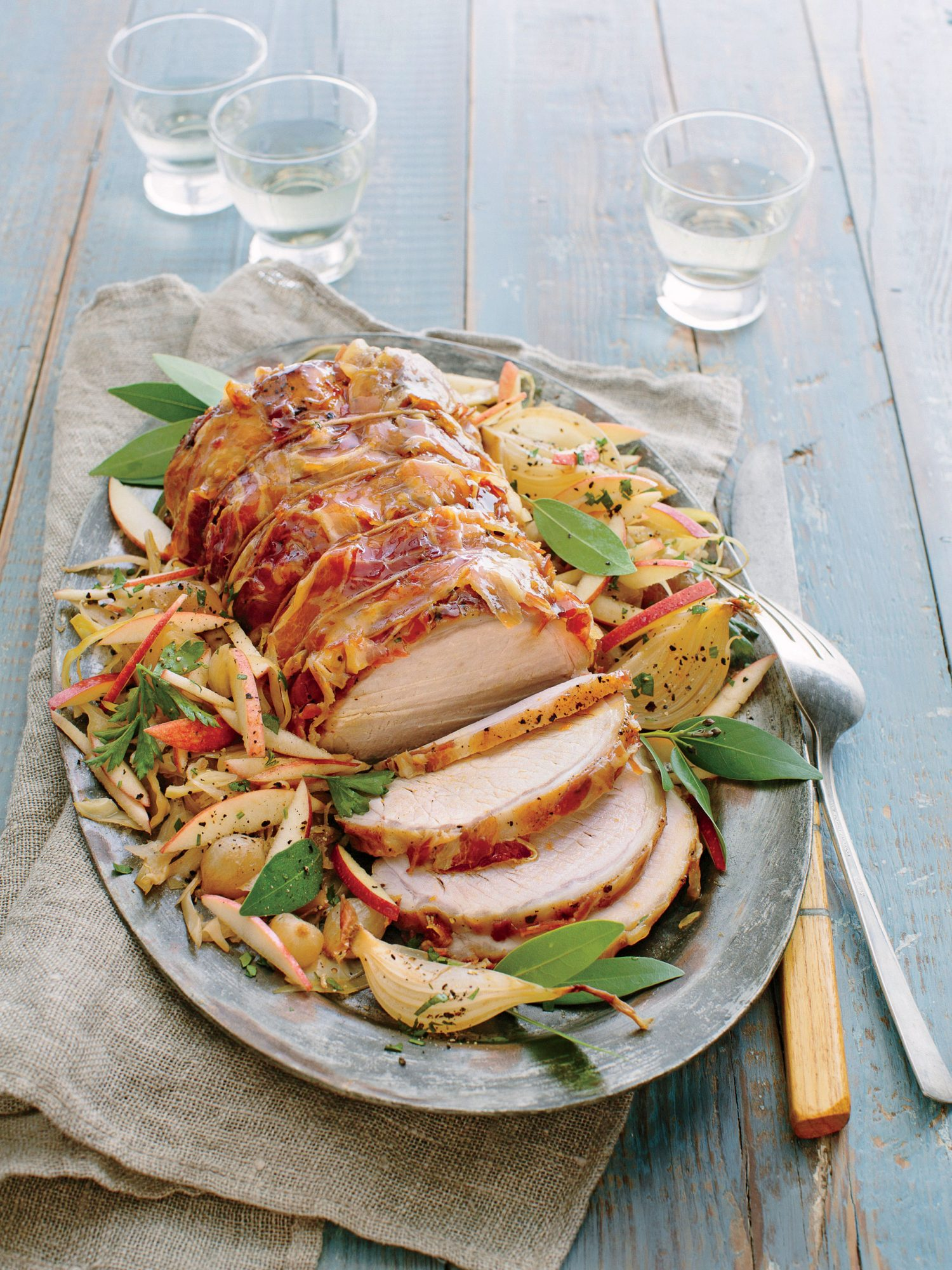 Pork and Sauerkraut Recipe with Apples and Bacon
