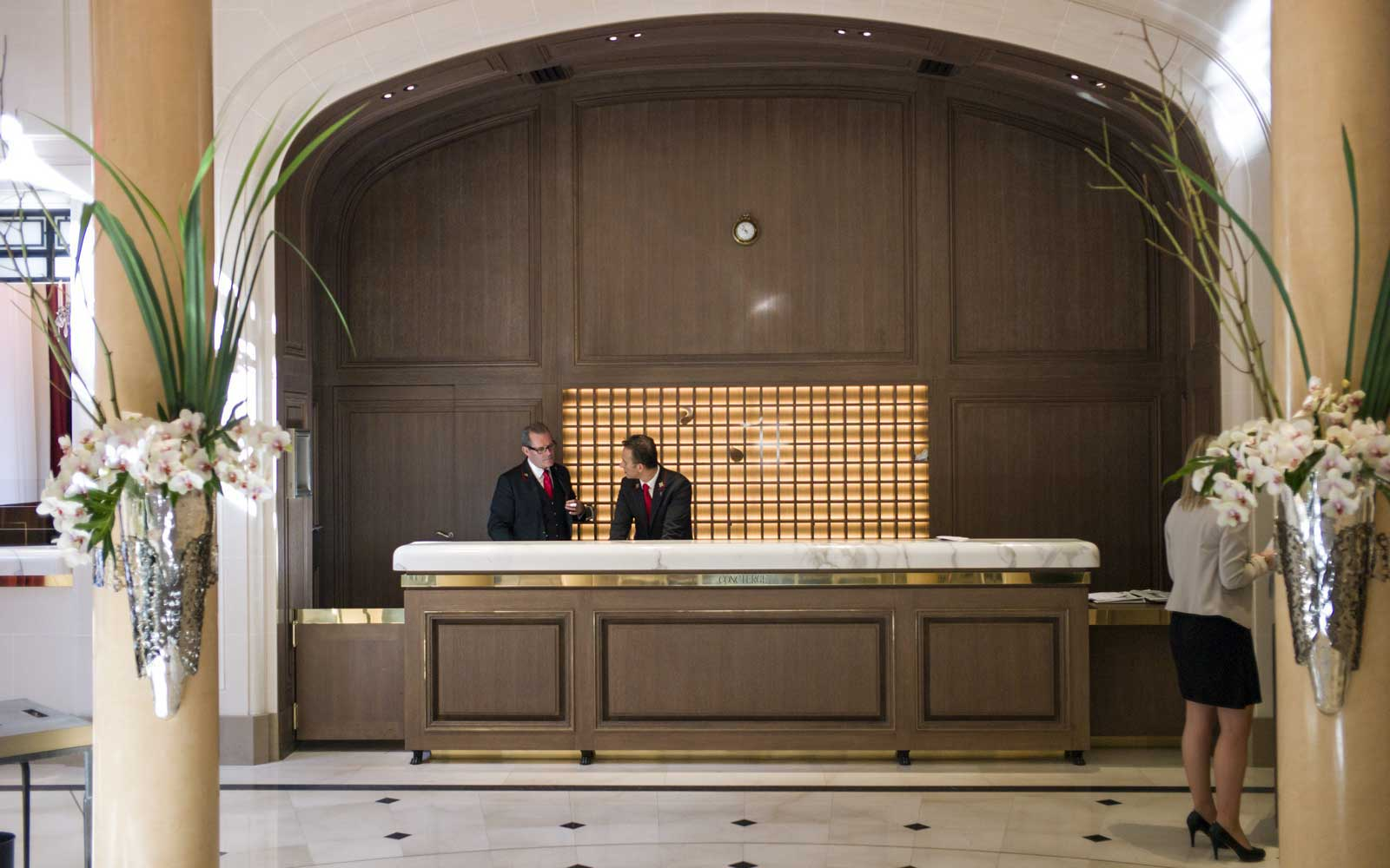 Use Your Hotel Concierge