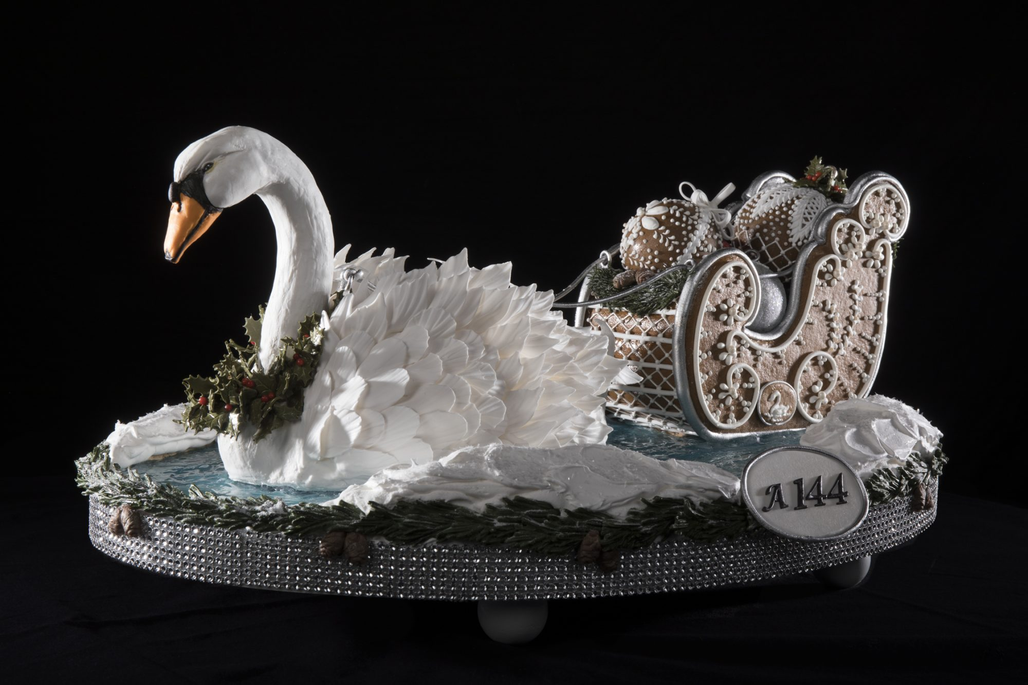 Swan Lake Gingerbread House Competition