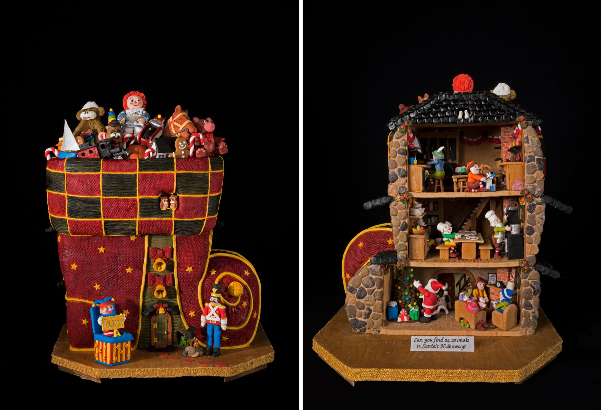 Santa's Hideaway Gingerbread House Competition