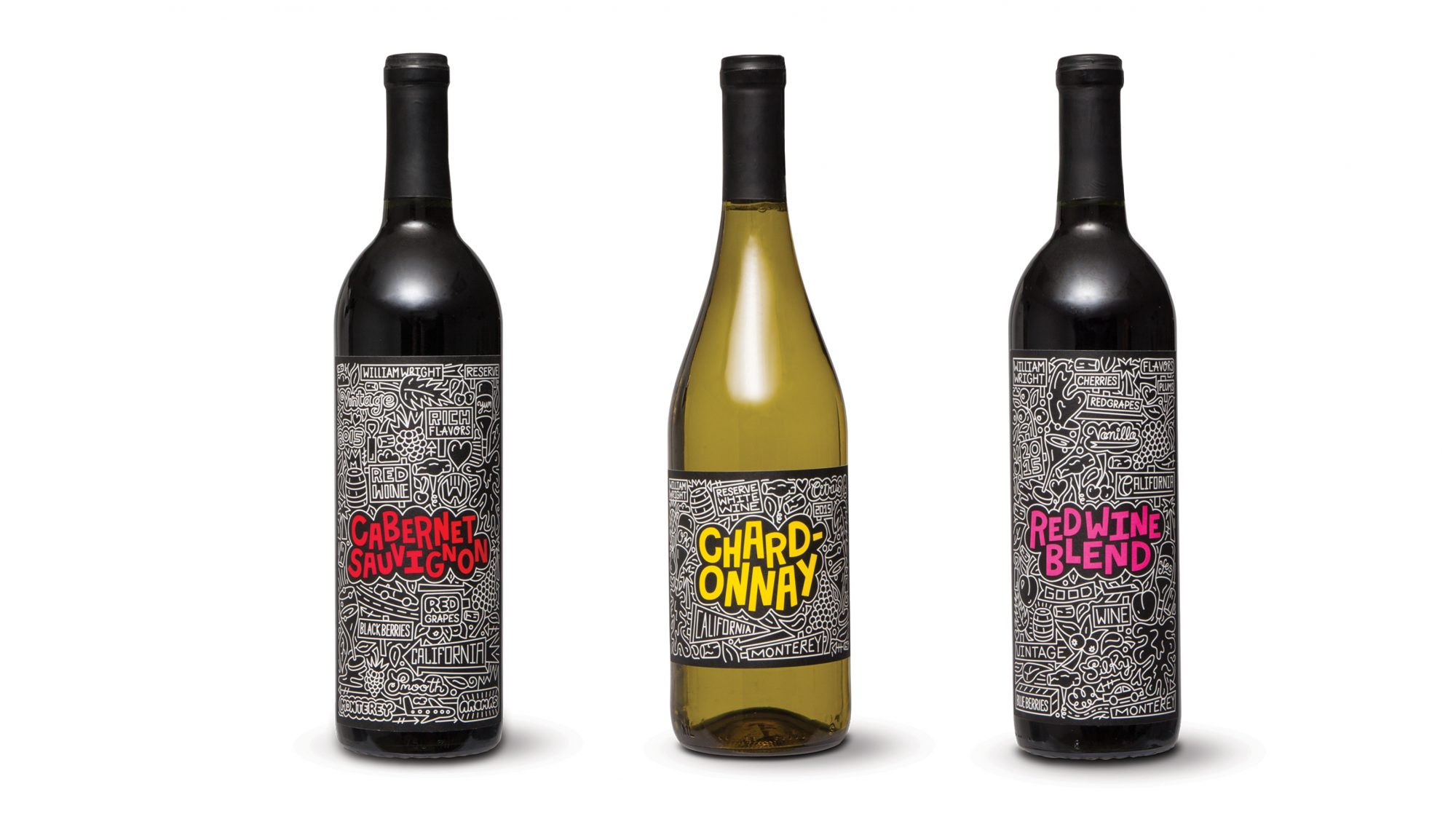 Limited-Edition Timothy Goodman Holiday Wine Collection Aldi