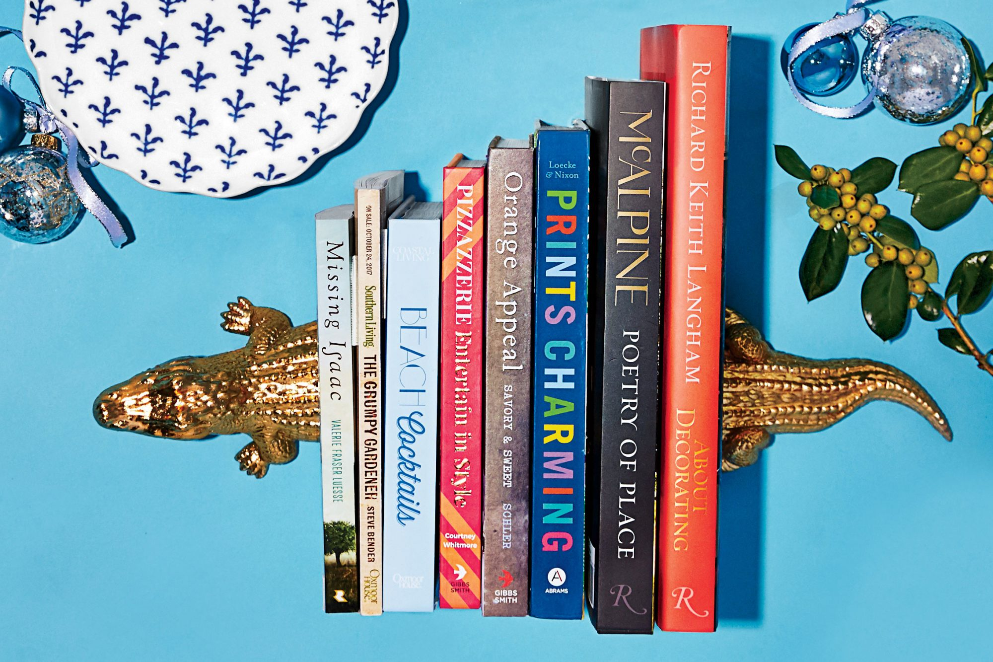 Alligator Bookends and Great Reads