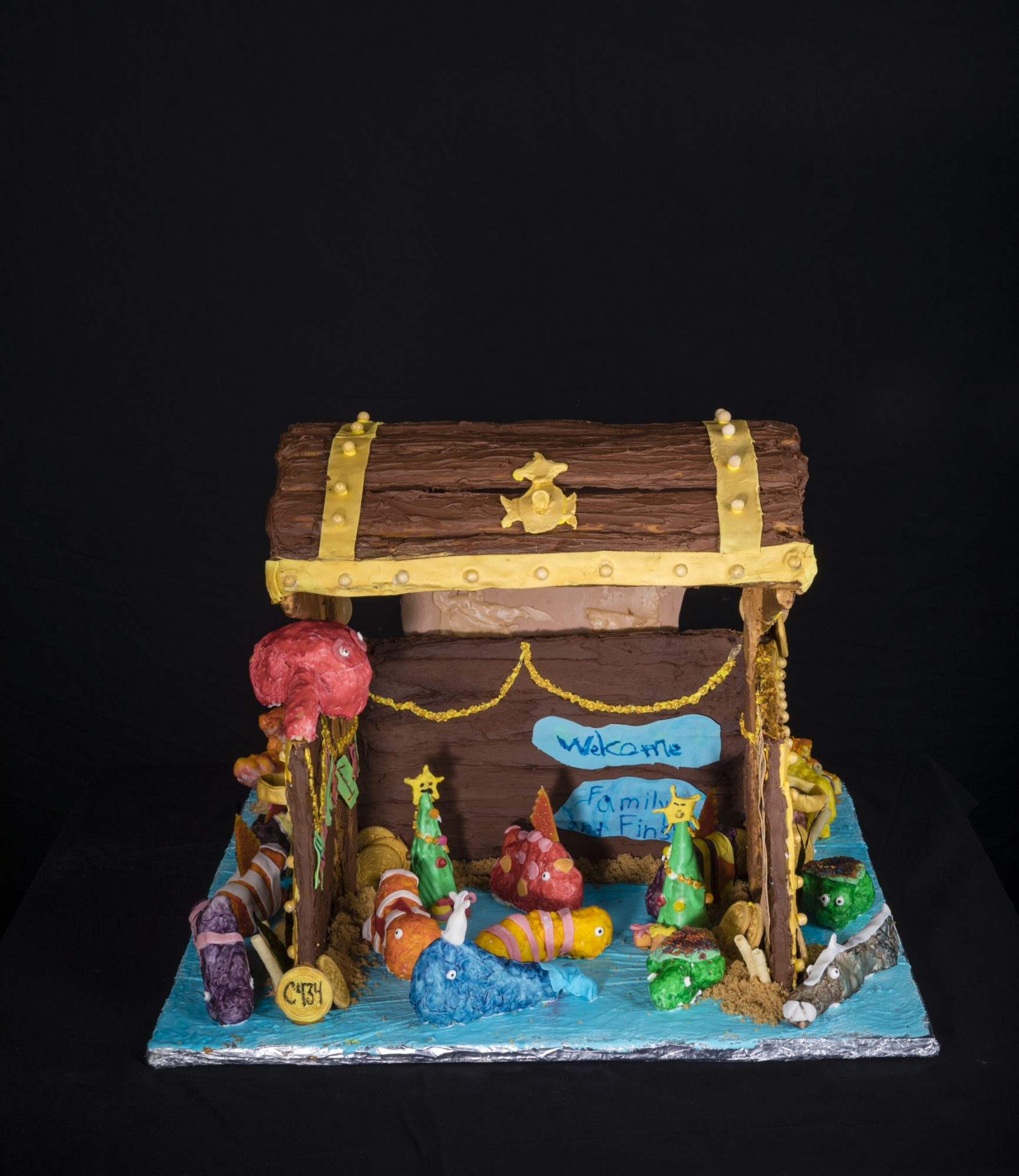 Our Treasures Gingerbread House Competition