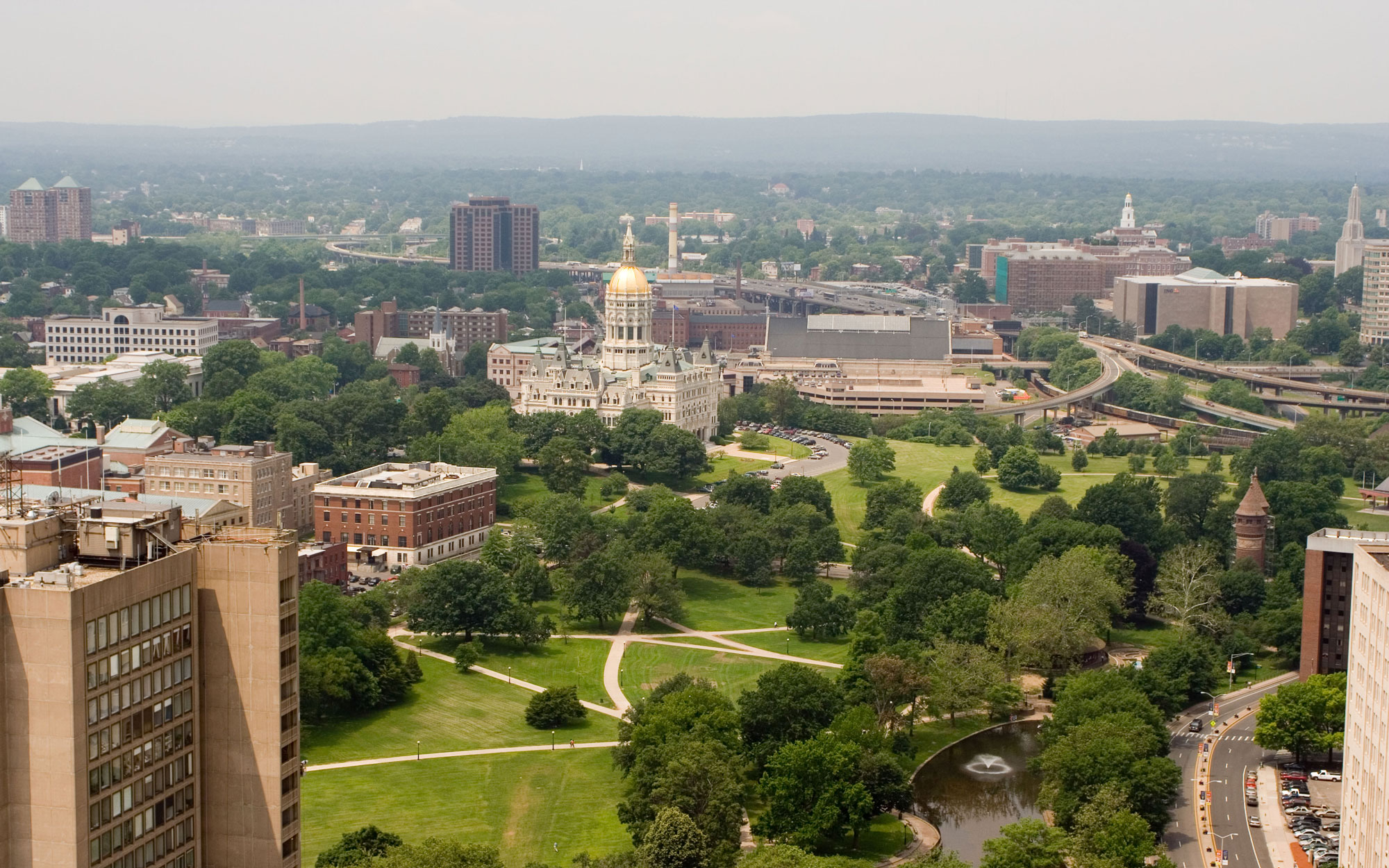 Connecticut from the Travelers Tower